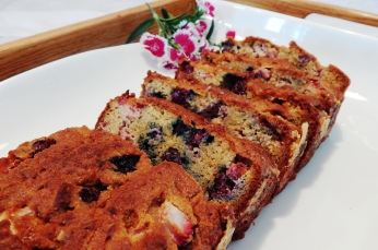 SCD, Paleo Red, White & Blueberry Loaf