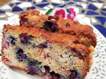 SCD Paleo Red, White & Blueberry Snack Bread