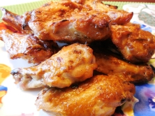 Honey Mustard Chicken Wings