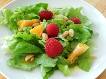 Delicate Butter Lettuce Salad with White Vinaigrette
