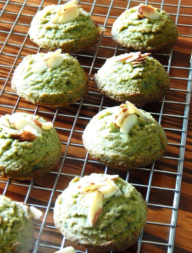 Matcha Green Tea Cookies - Grain Free