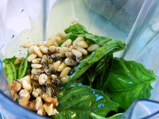 Low FodMap Dairy Free Basil Pesto