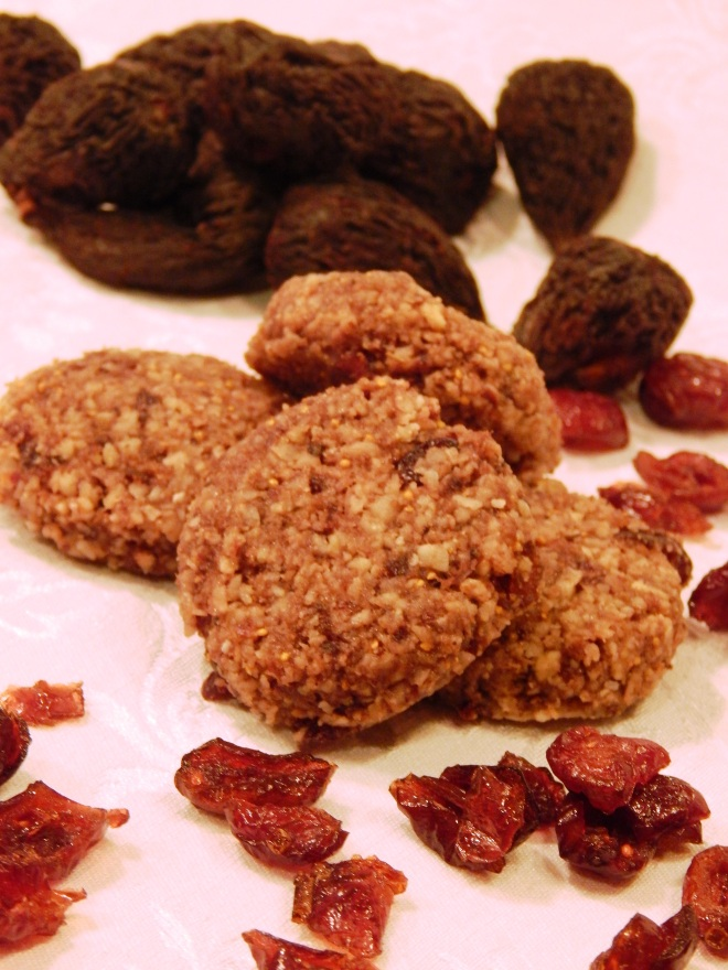 Cranberry Fig Bites