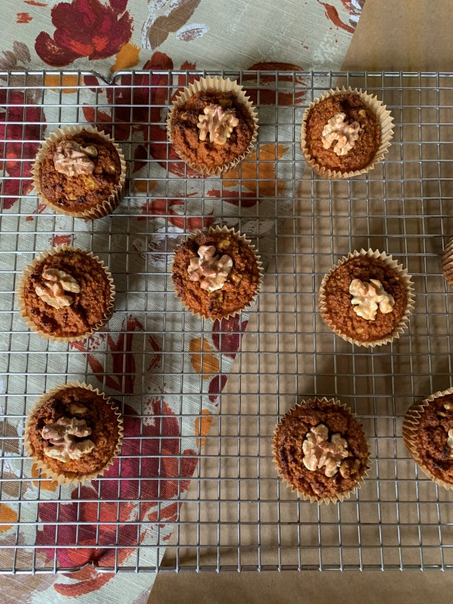 Grain Free Walnut Spice Muffins 3
