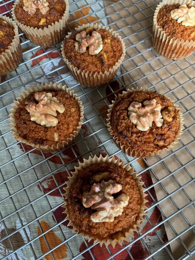 Grain Free Walnut Spice Muffins Scd, Paleo 2