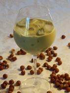 Iced Matcha Hazelnut Latte