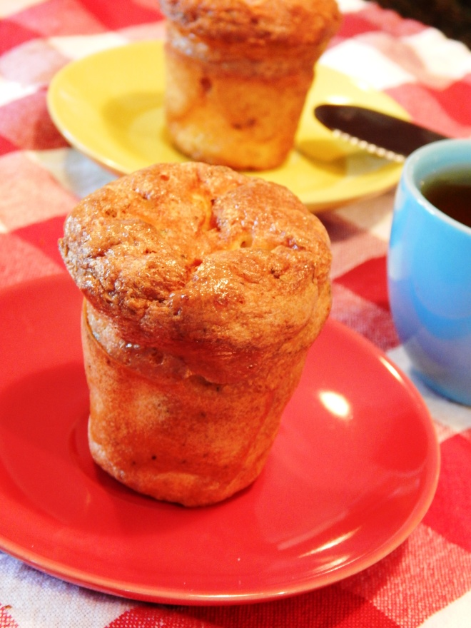 Italian Bacon Popovers
