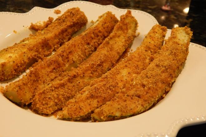Spicy Zucchini Sticks