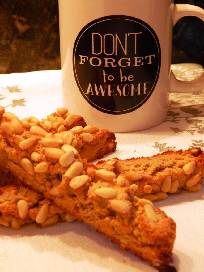Classic Pine Nut Biscotti