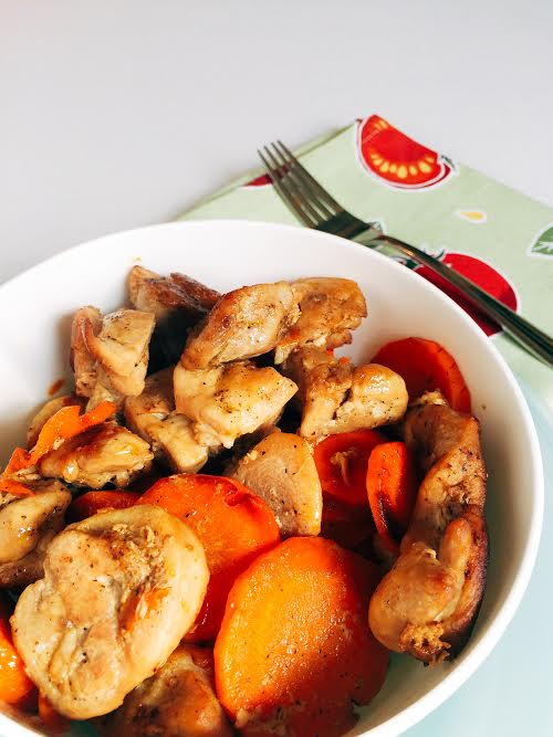 Zesty Chicken and Carrots