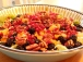 Phyto Blast Salad with Blueberry Dressing