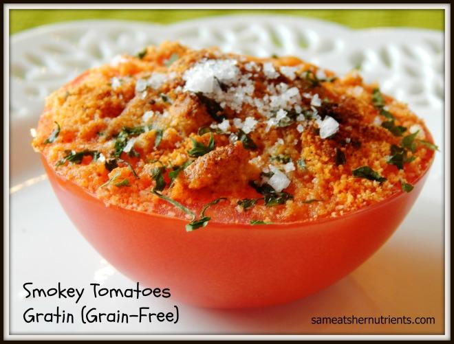 Smokey Tomatoes Gratin
