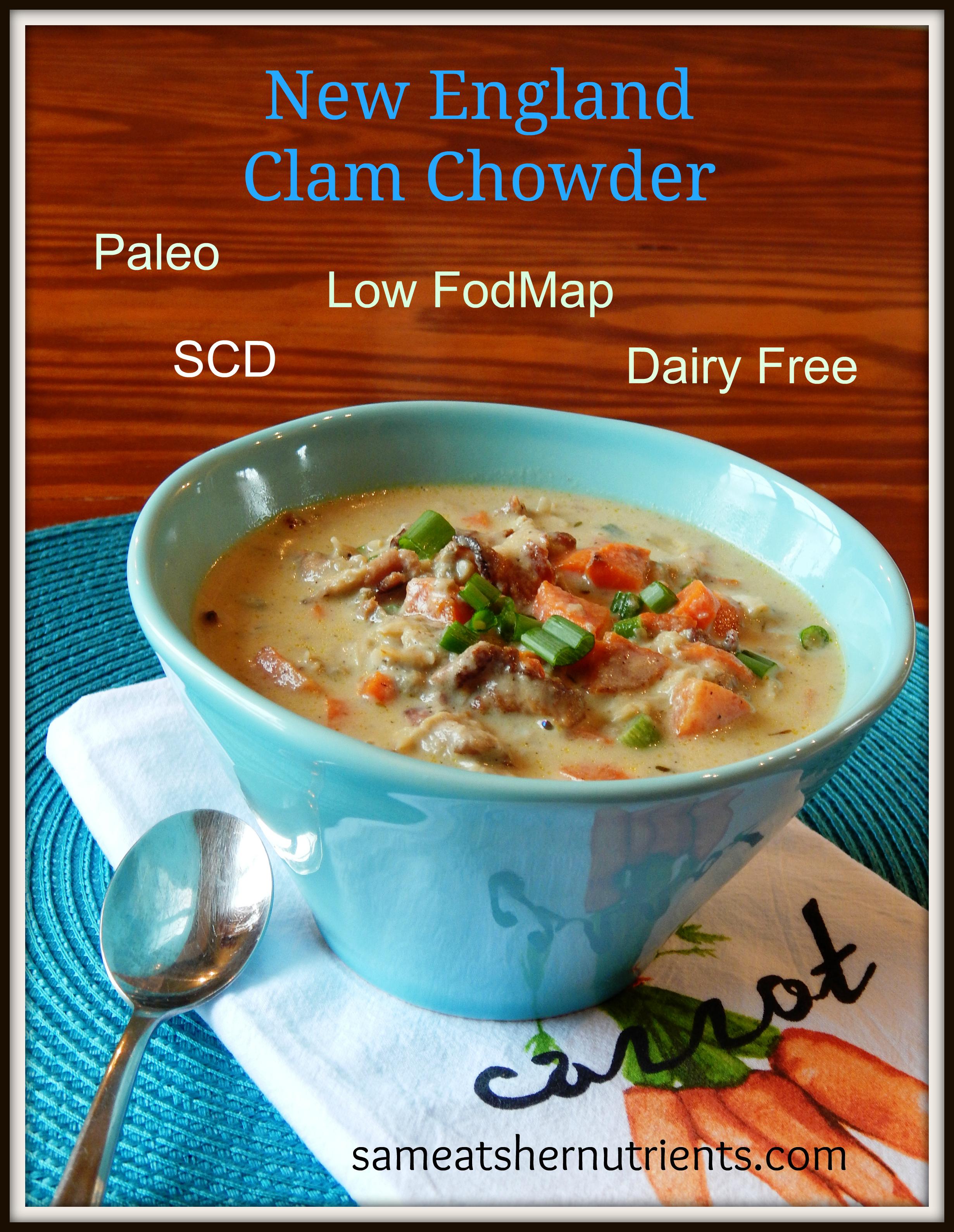 New England Clam Chowder | Sam Eats Her Nutrients