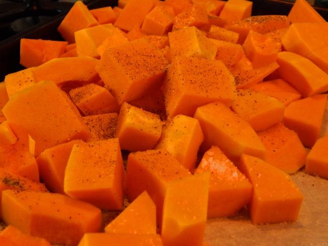 butternut cubed