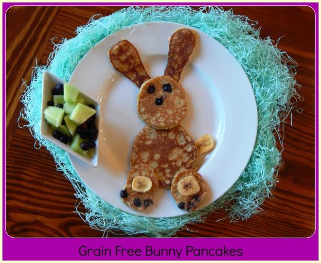 Grain Free Bunny Pancakes