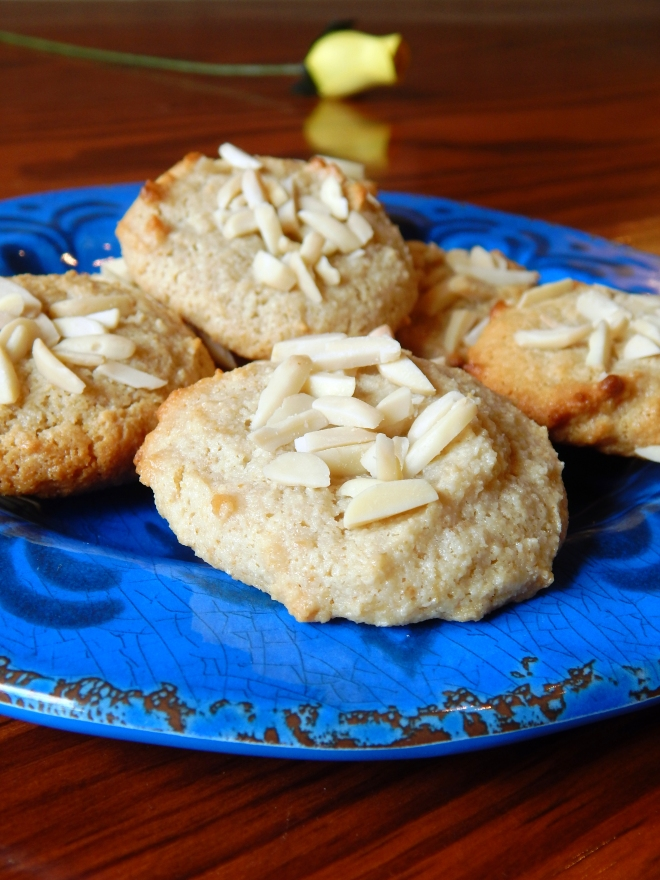 Almond Tahini Grain Free Cookies