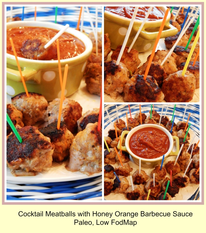 cocktail meatball collage