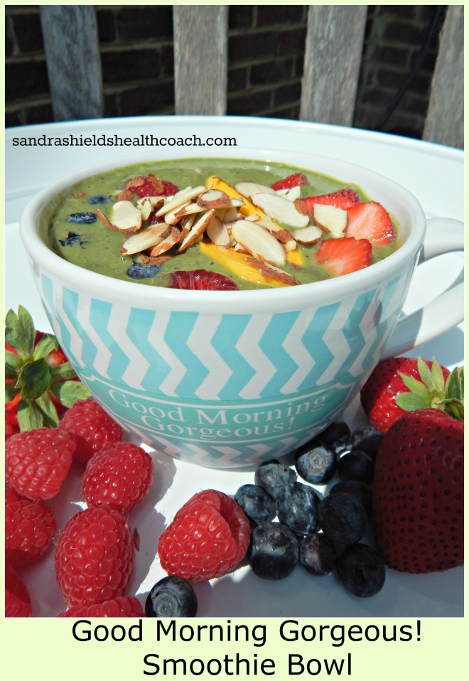 Good Morning Gorgeous! Smoothie Bowl