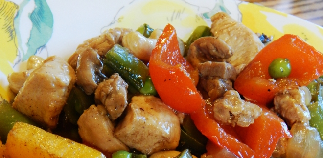 Paleo Takeout Cashew Chicken