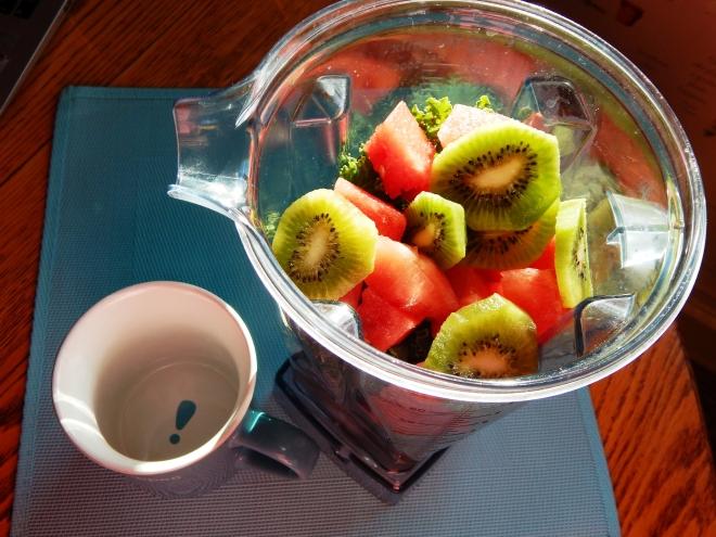 kale kiwi smoothie