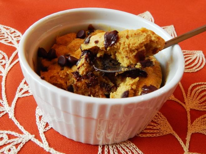 Pumpkin Chocolate Chip Mug Muffin