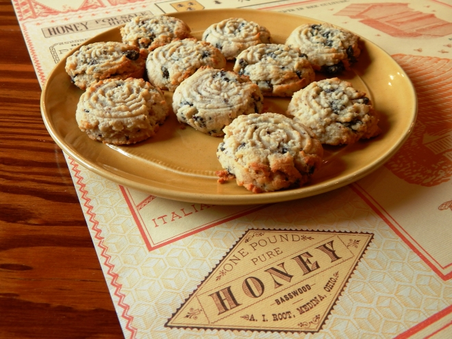 Sour Cherry and Honey Tea Cookies