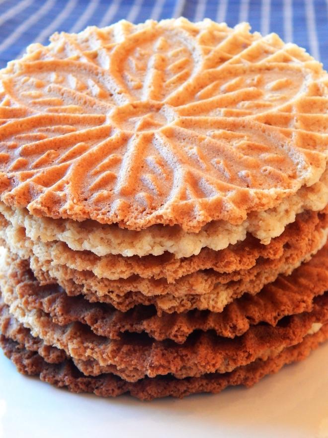 Paleo Pizzelle Cookies