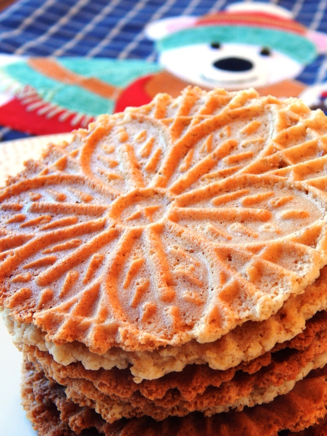Pizzelle Cookies Paleo Style!