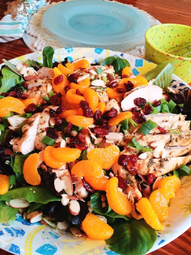 Bistro Lemon Chicken Dinner Salad