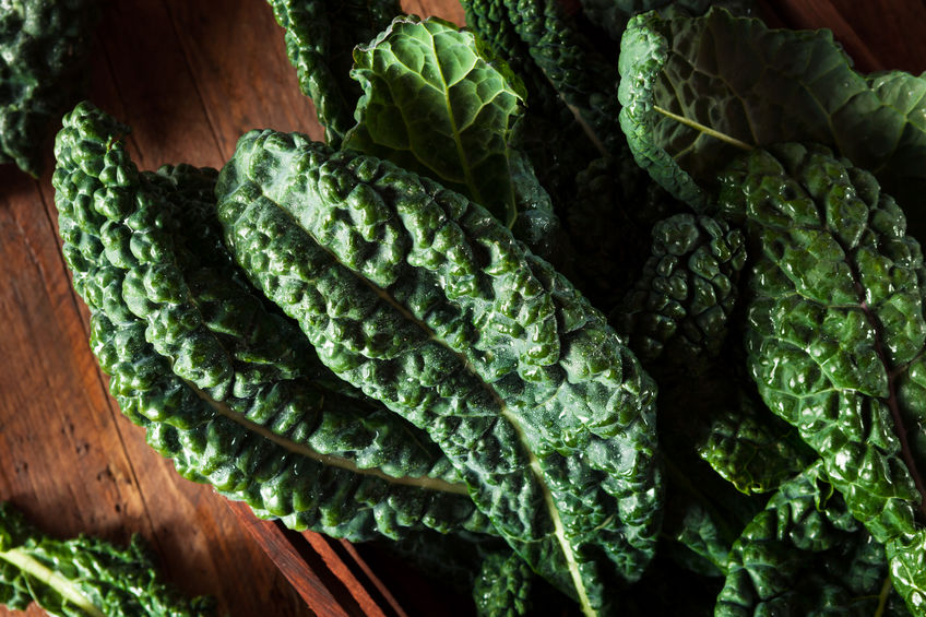 Lacinato Kale with Garlic and Almonds