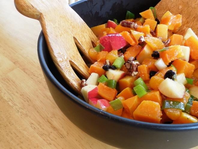Orange Pecan Cookout Salad
