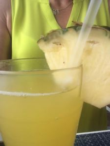 Fresh Pressed Pineapple Coconut Juice