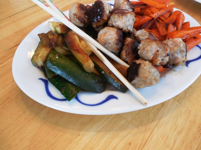 Won Ton Shrimp and Pork Meatballs | Sam Eats Her Nutrients