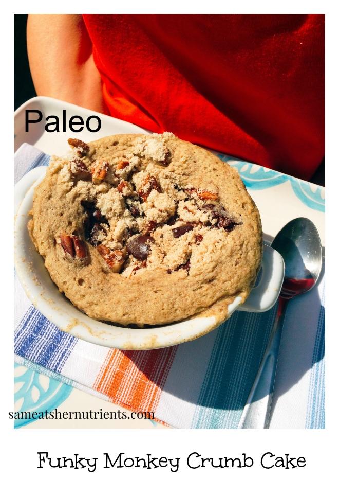 Funky Monkey Crumb Cake - Paleo