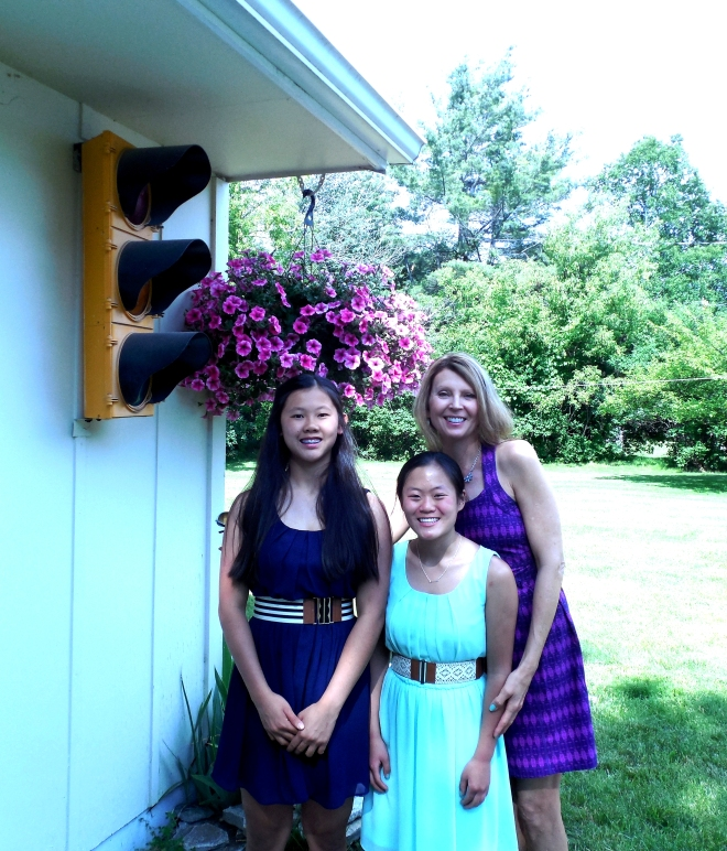 My Two Youngest Daughters and I