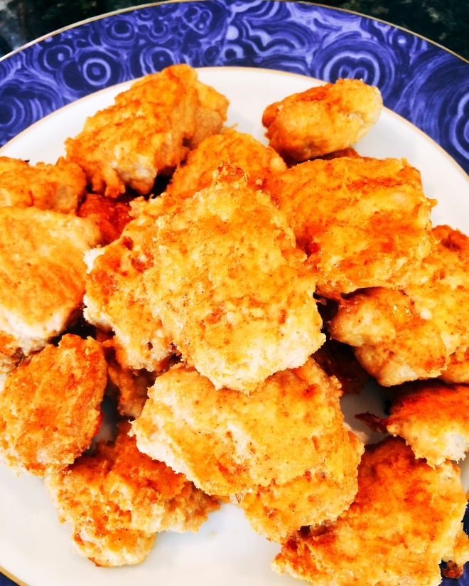 Grain Free Buffalo Chicken Nuggets