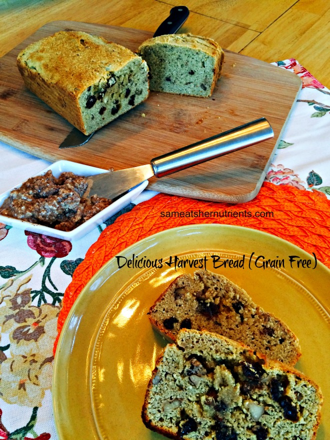 Delicious Harvest Bread (Grain Free)