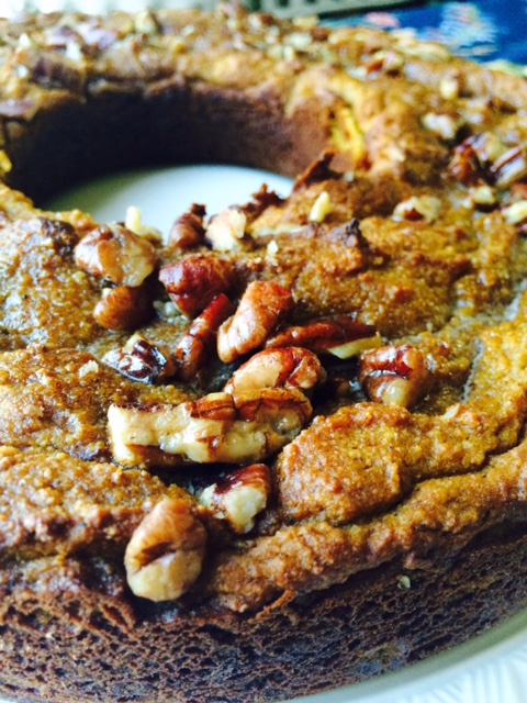 Grain Free Pumpkin Coffee Cake