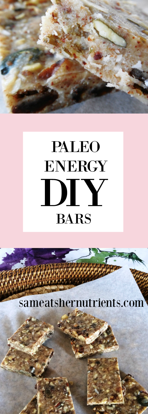 Paleo Energy Bars