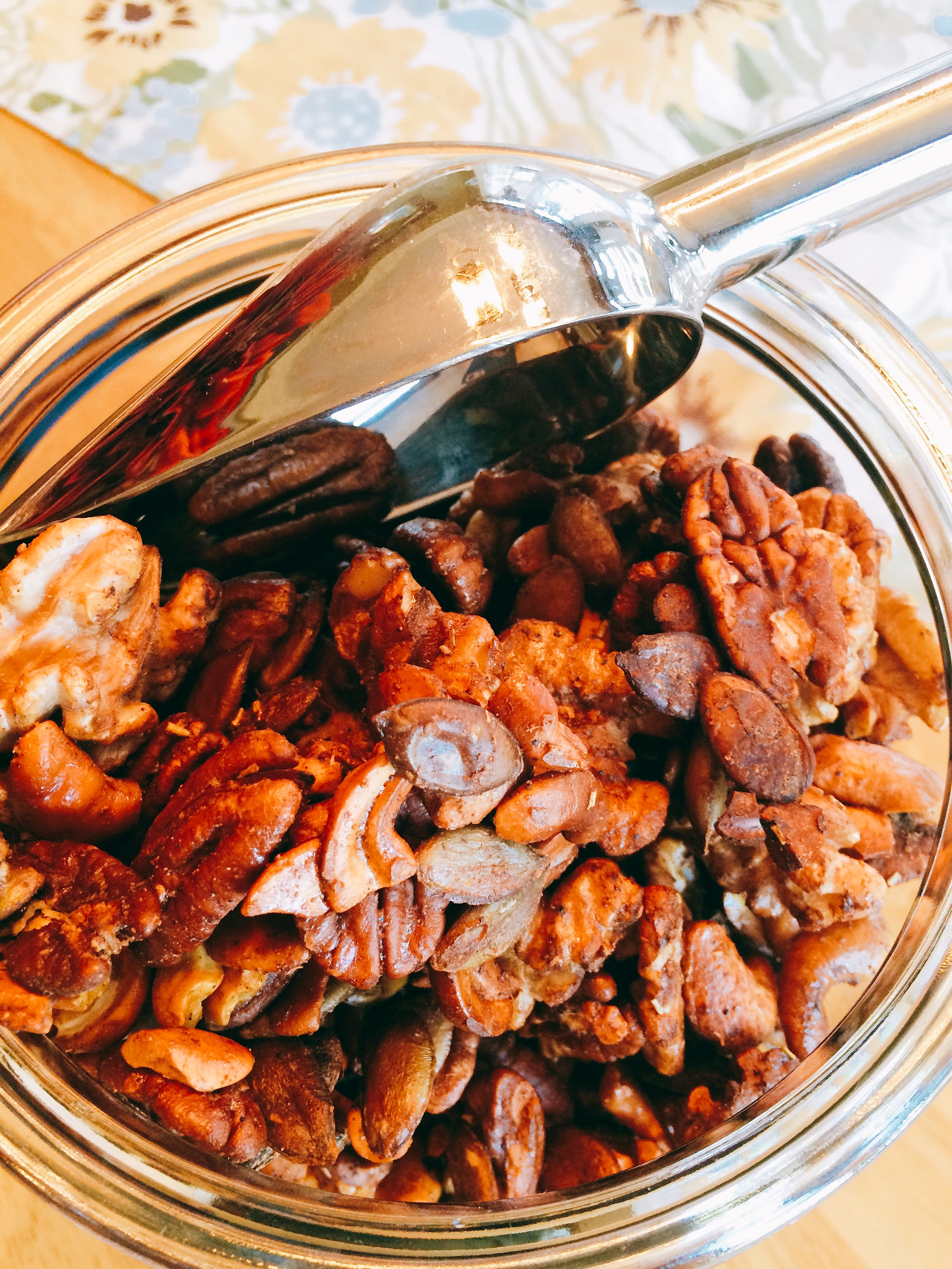 Delicious Spiced Nuts
