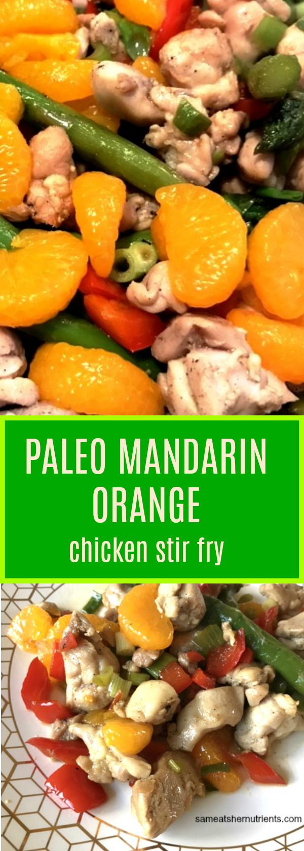 Mandarin Orange Chicken Stir Fry Gluten Free, Paleo
