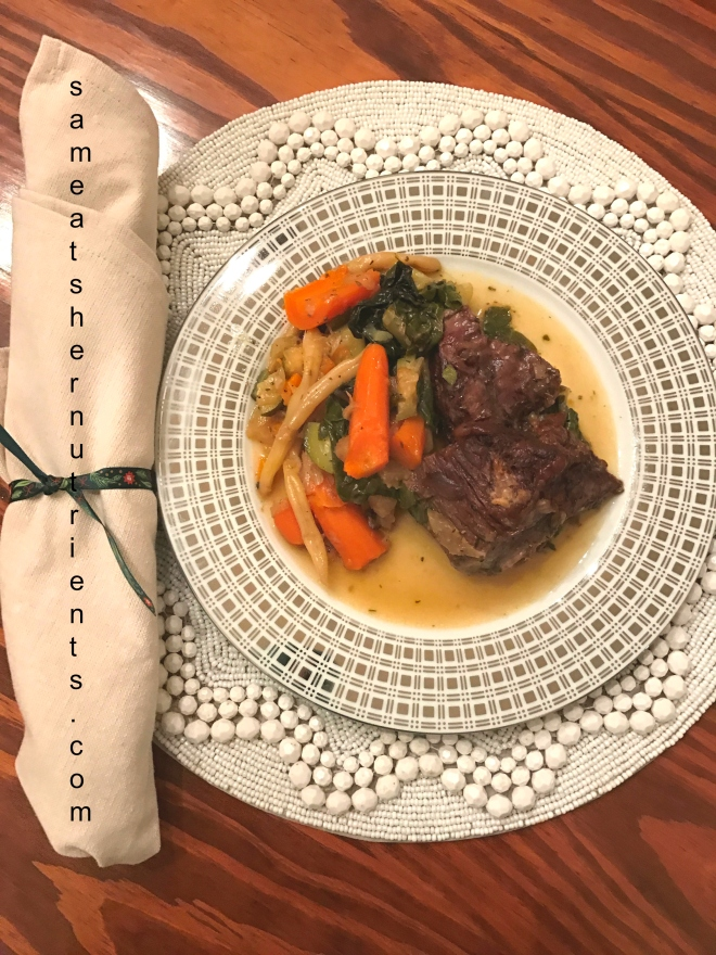 Oven Chuck Roast with Vegetables