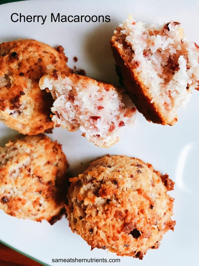 cherry-macaroons-paleo