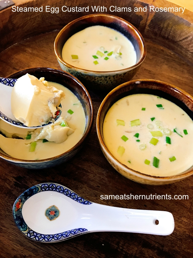steamed-egg-custard-with-clams-and-rosemary-using-an-instant-pot