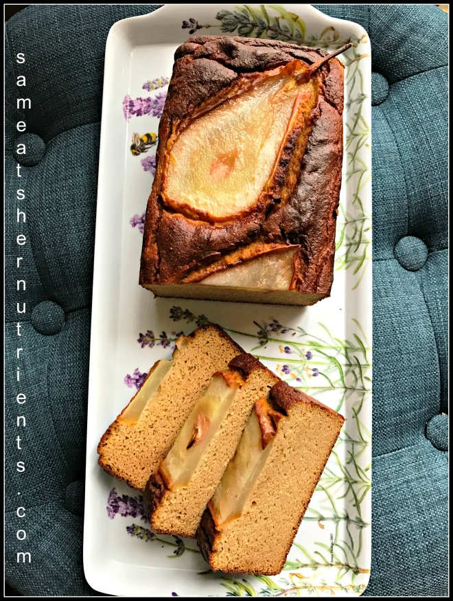 sliced-vanilla-pear-bread-coconut-flour