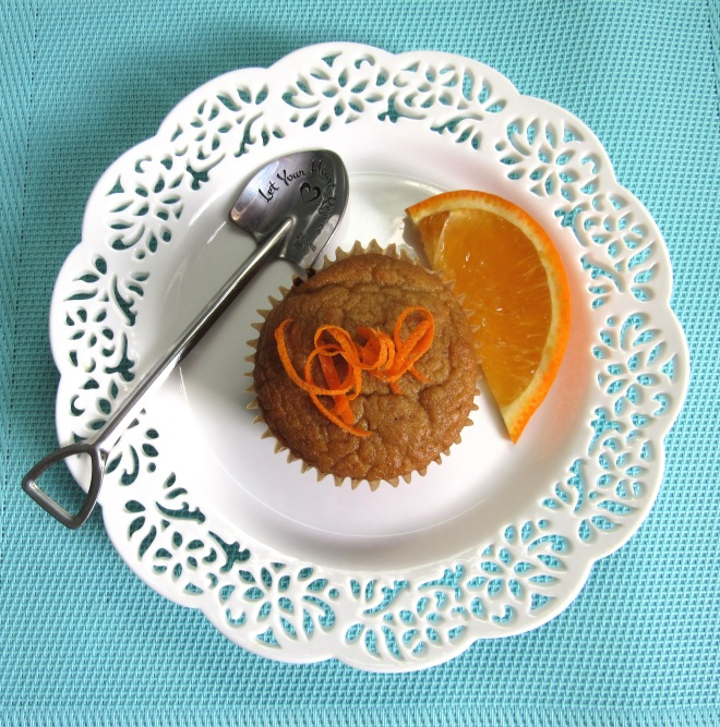 Coconut Flour Orange Muffins