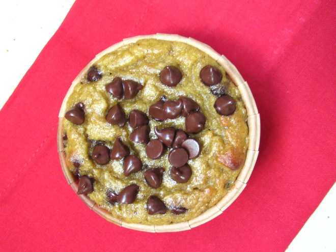 Moist and Grain Free Chocolate Chip Banana Muffins