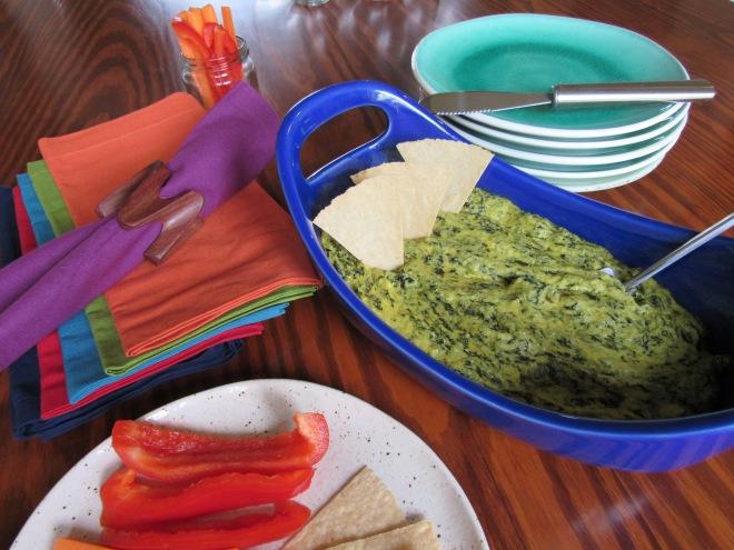 Hot Spinach Artichoke Dip - Dairy Free