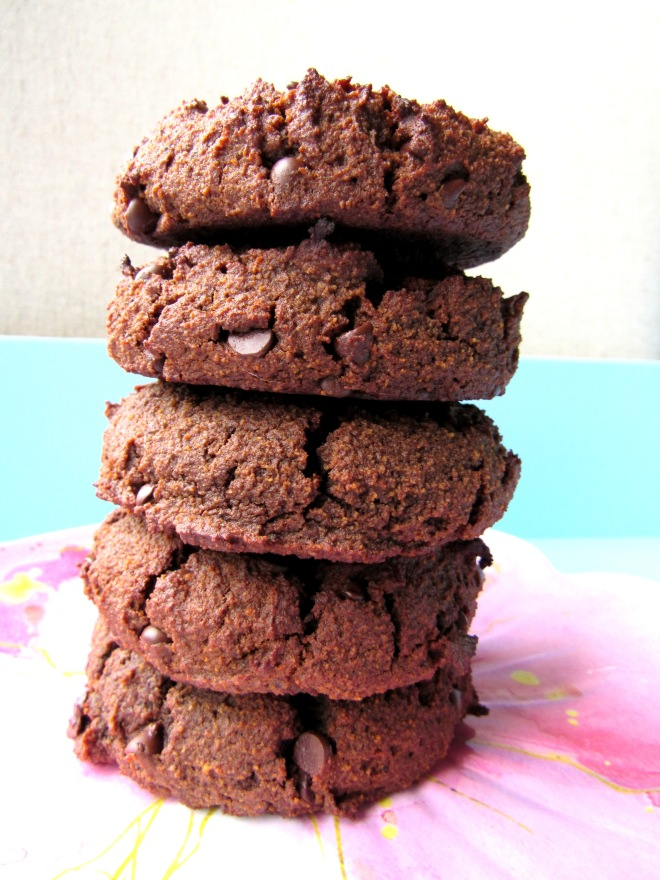 Double Chocolate Cookies Date Sweetened Coconut Flour