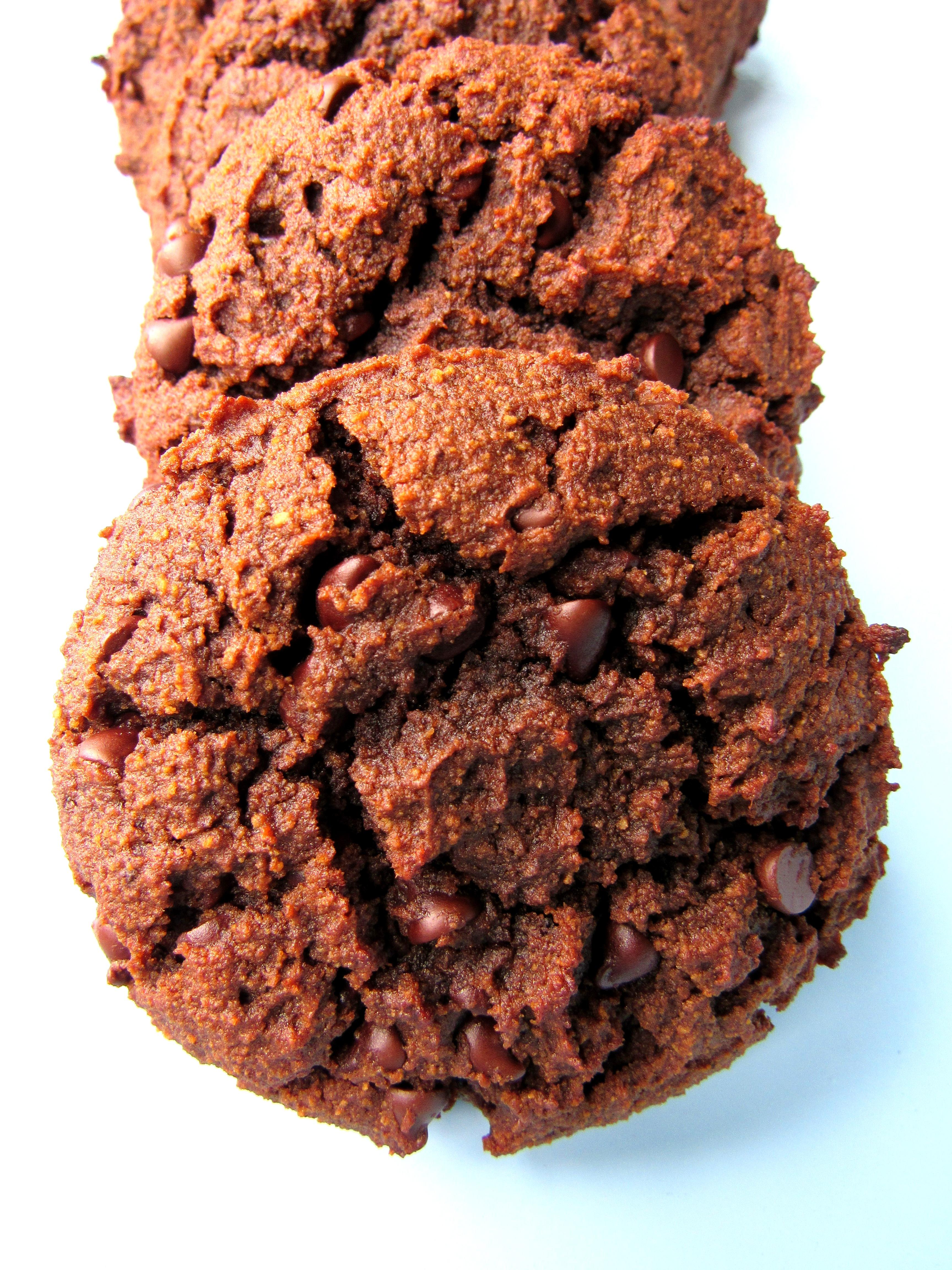 Jumbo Double Chocolate Grain Free Cookies